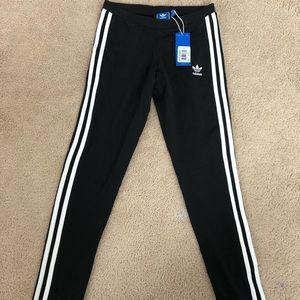 Adidas 3 Stripe Leggings- NWT